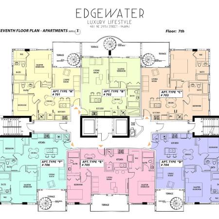 Edgewater Floorplan - Miami